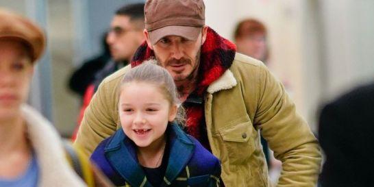 Beckham con HarperSeven